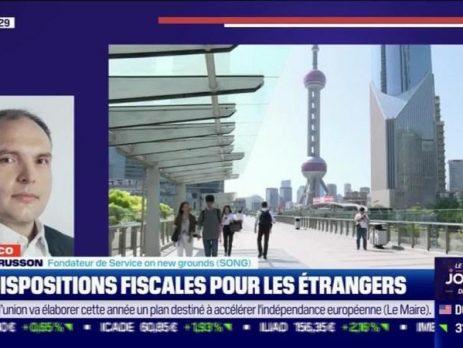 Yvon Russon à Chine Éco Les dispositions fiscales pour les étrangers